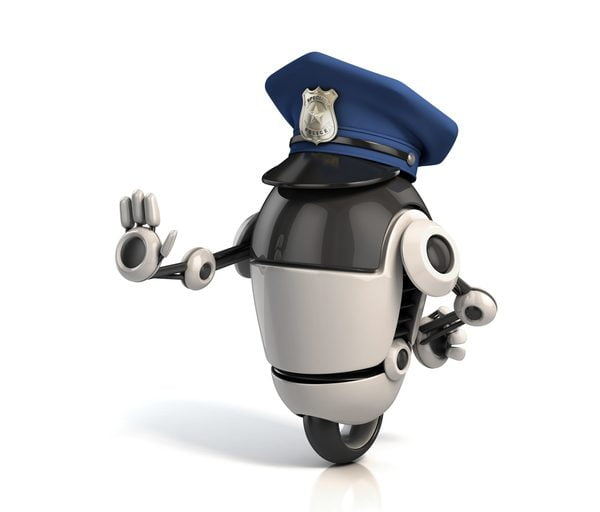 Robotic policeman