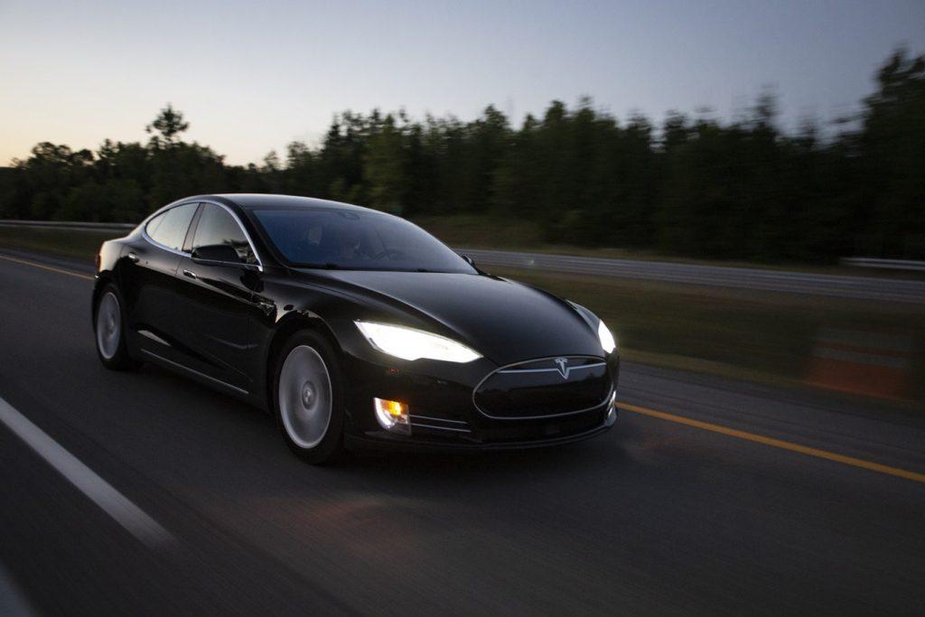 Tesla software update
