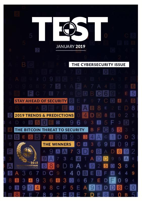 TEST Magazine January 2019